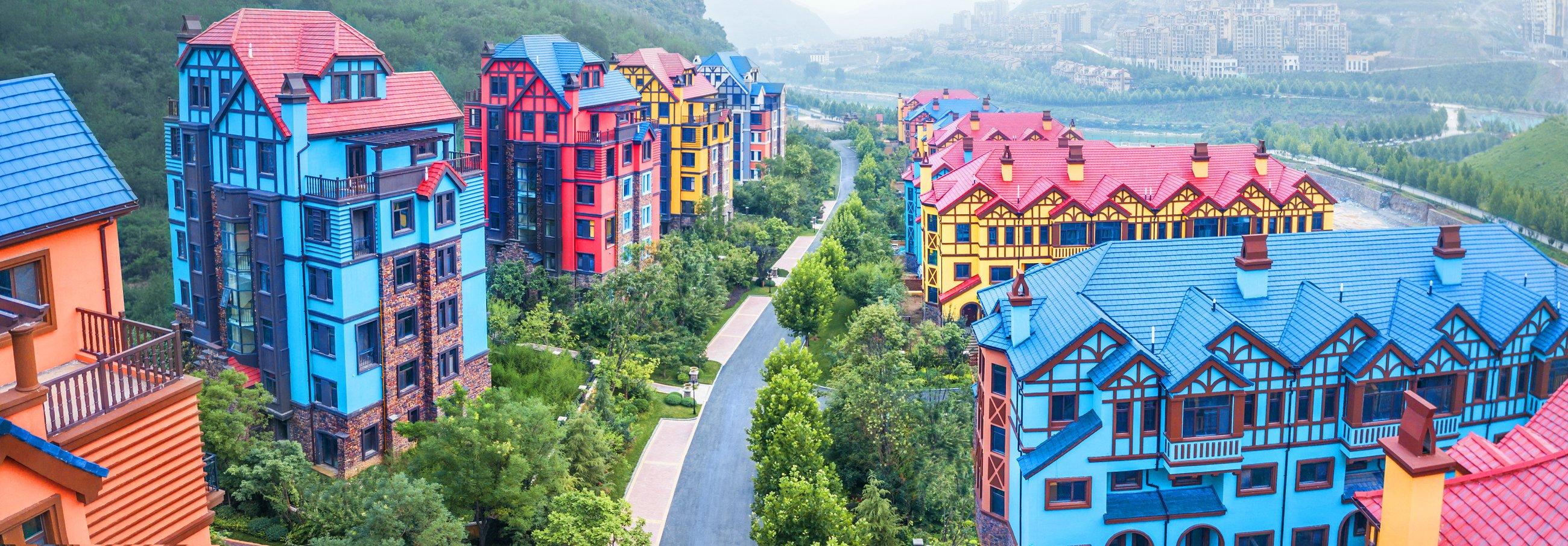 华银天鹅湖,北京周边公交直达环境 的小区