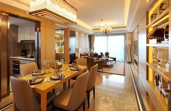 九洲海誉居三房两厅单位,均价5.5万元/㎡