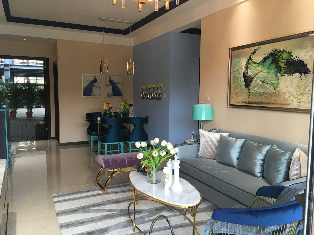 金湾豪庭 均安顺德广场旁 首付36万4房一线江景洋房