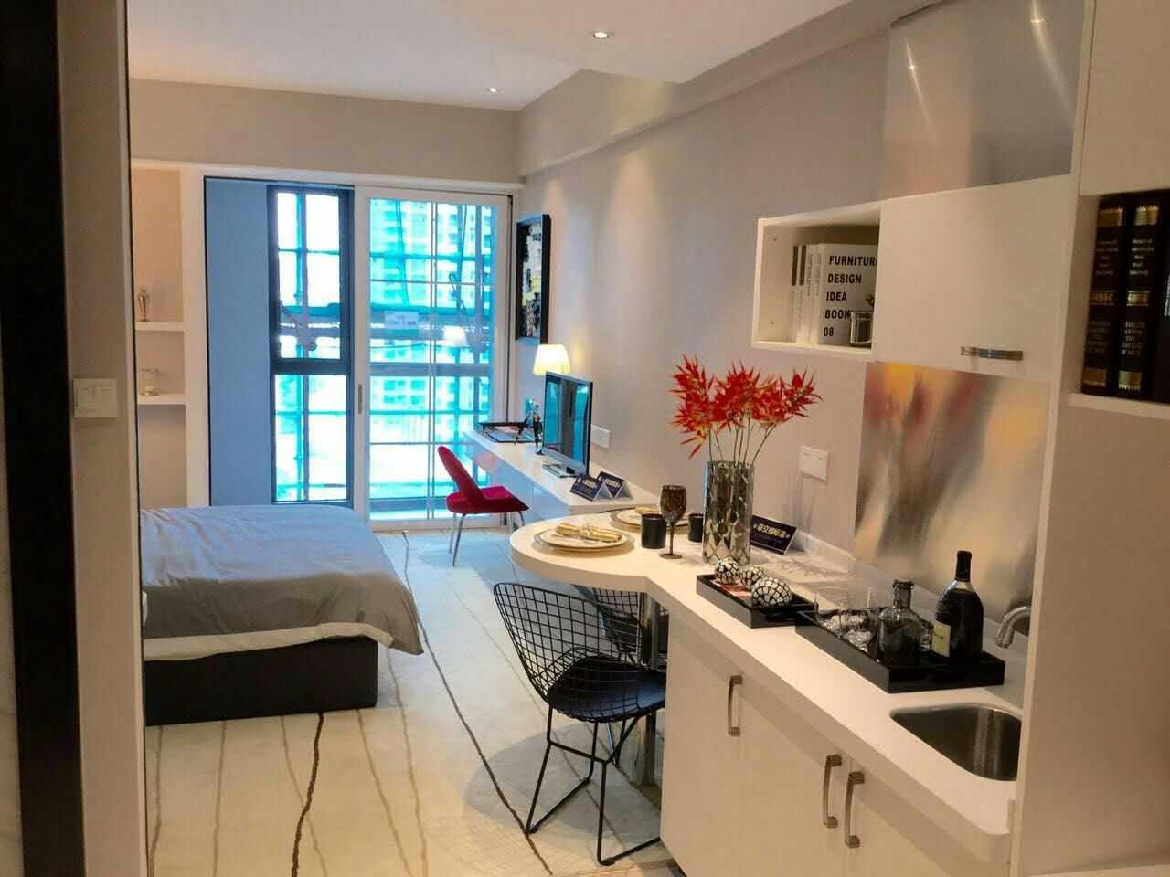 珠江新城CBD精装公寓 可明火 带景观阳台   酒店包月租6500