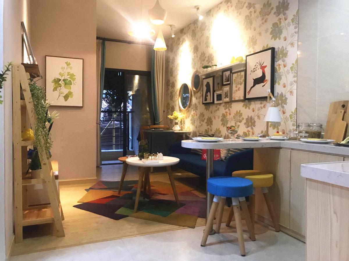 MiNi寓 舒适1房带衣帽间 开放式厨房带超大阳台南站未来域
