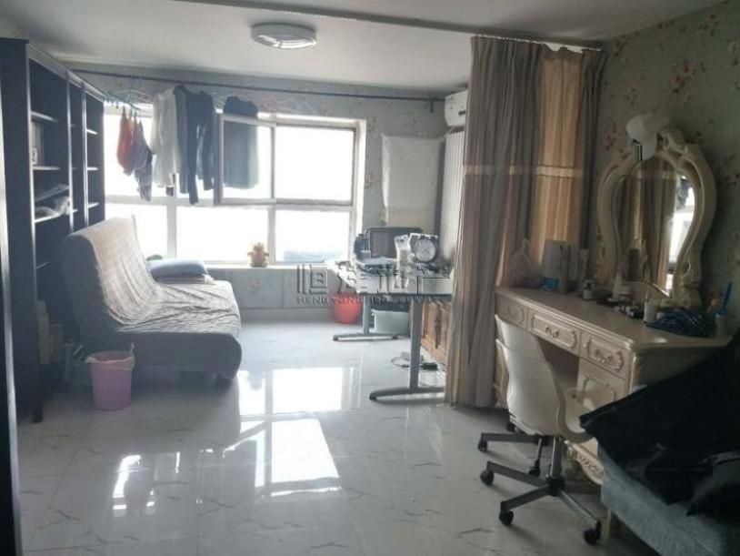 朝青板块 朝阳区 北京像素南区 50平复试两居室 中高楼层