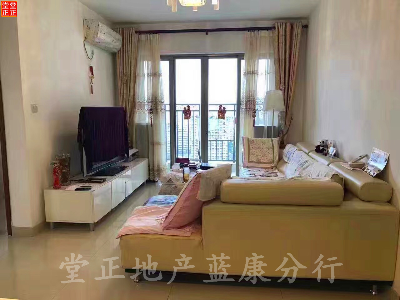 珠光高派精装大两房 房大挺大阳台大 住家  带省一级幼儿园。