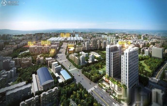 碧桂园联合广场建筑9号线花都广场站可签10年租约4500