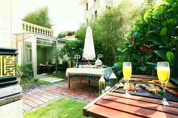 帝景山庄 天河在售纯别墅 闹市后方的秘密花园 低调奢华