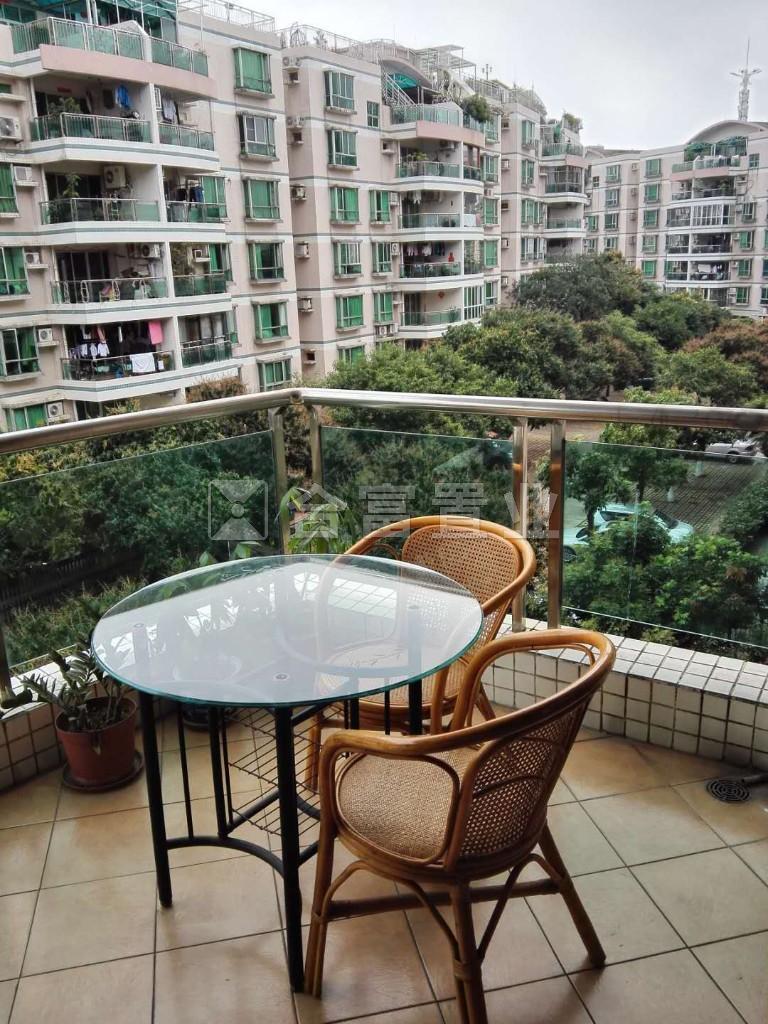 东南向 首付70万 实价330万 广州碧桂园 楼梯中层望花园