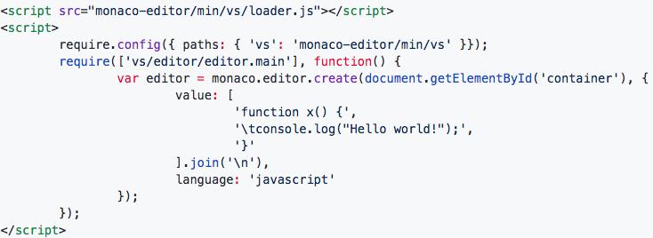 基于JavaScript的代码编辑器的比较和选型-社区博客-网易云