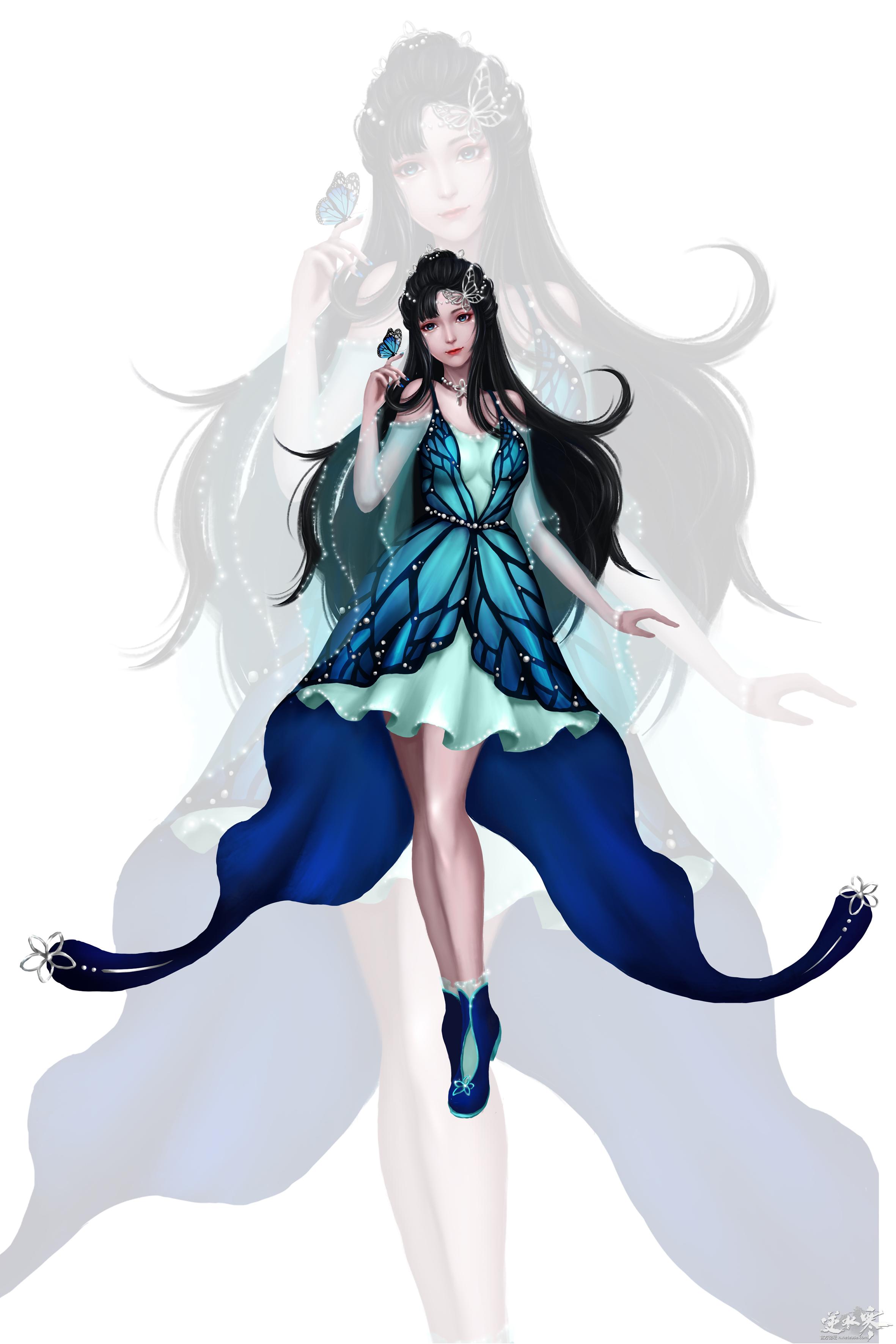 """时装""""踏梦幽蝶"""",你们要的小短裙!"""