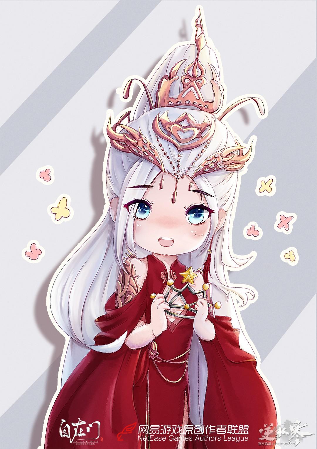 【原创作者联盟】38女神节?呐,皇冠给你戴!【自在门】【手绘】