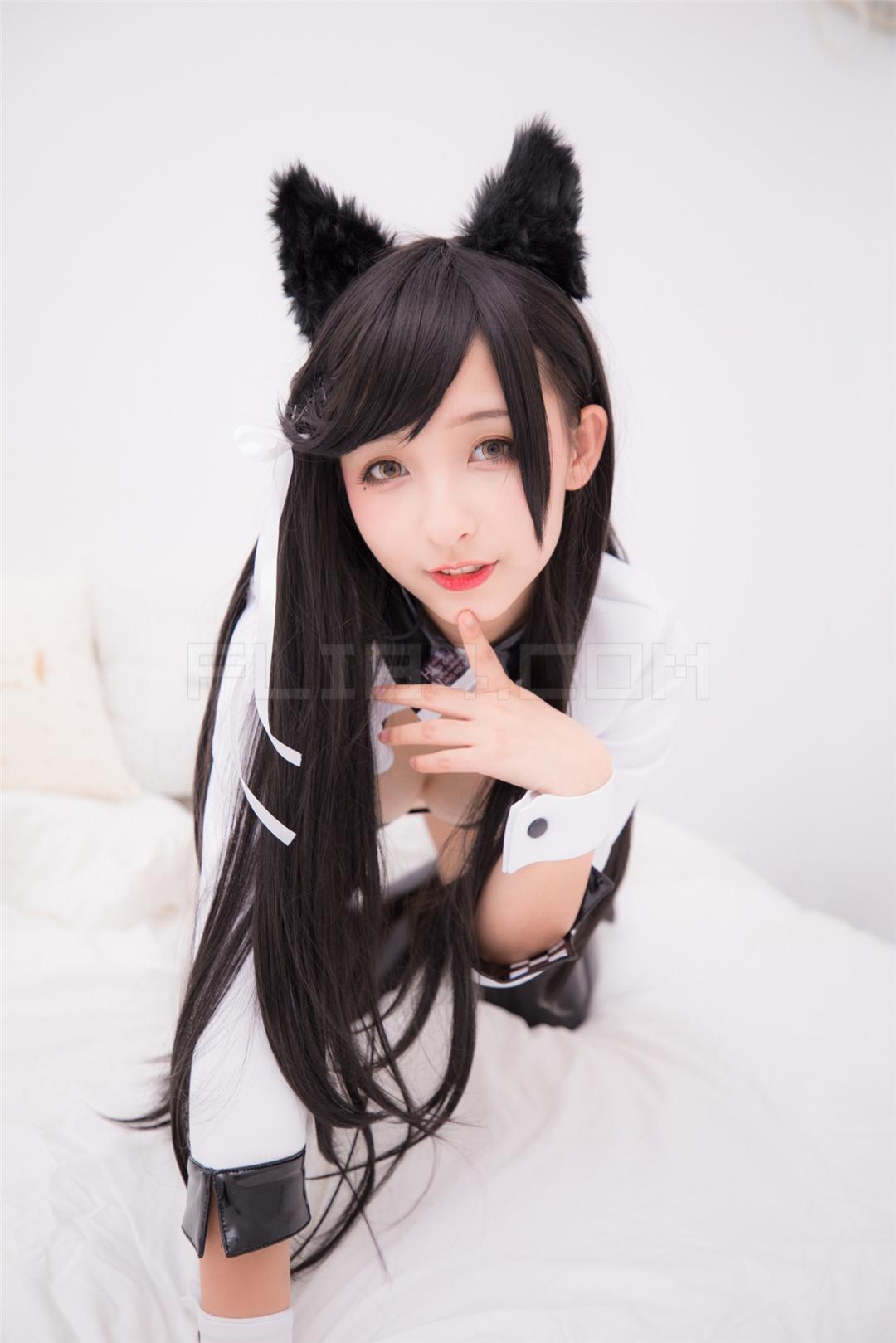 【福利姬】神楽坂真冬 LATEX VER-Azurlane ATAGO 【150P】